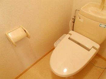 【トイレ】ウスキハイツ