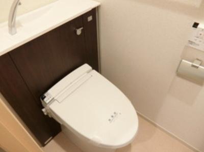 【トイレ】グランシャリオ中野坂上