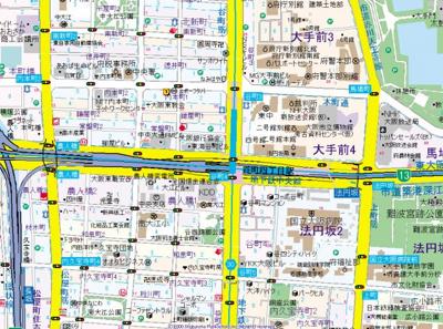 【地図】ラクラス内本町