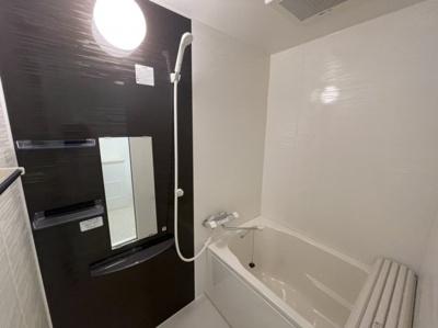 浴室はモダンカラー