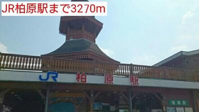 JR柏原駅まで3270m