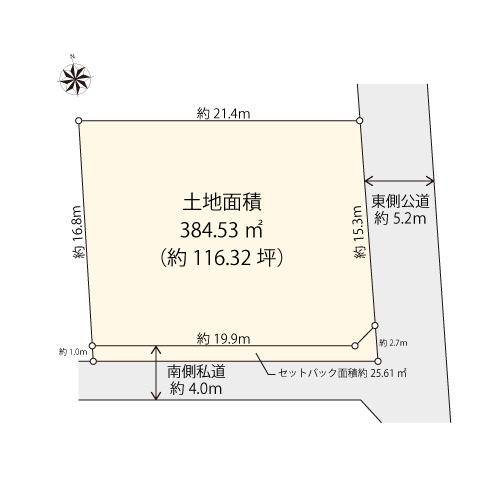 【土地図】目黒区鷹番3丁目