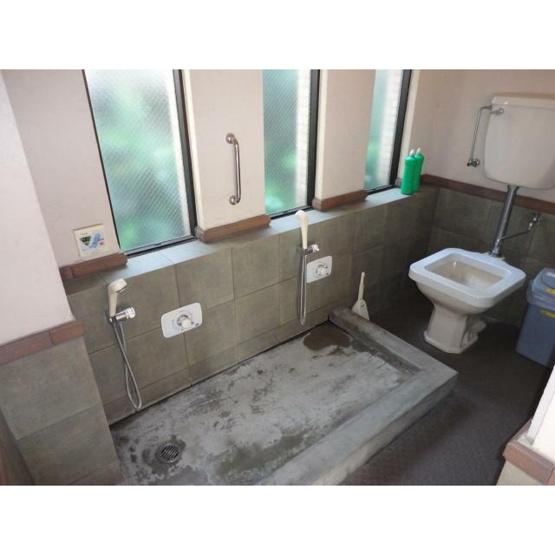 共用の足洗い場・うんちダスト(ペット専用トイレ)