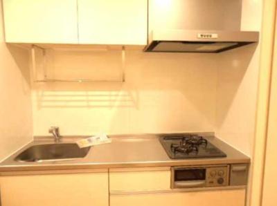 【キッチン】カーサルチェンテ 2人入居可 独立洗面台 浴室乾燥機・追炊