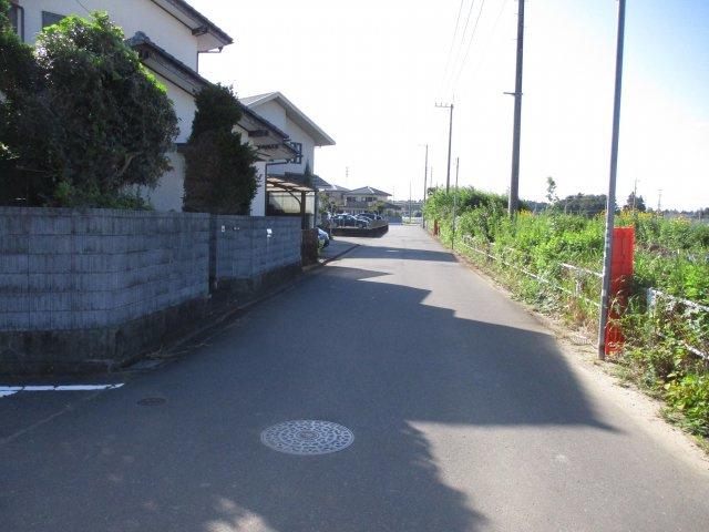 【前面道路含む現地写真】堀町土地