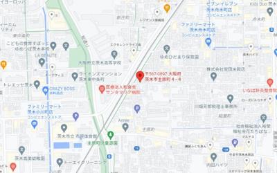【地図】主原町戸建