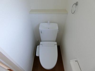 【トイレ】土浦市西真鍋町1期 新築戸建 2号棟