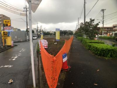 【外観】足立区竹ノ塚7丁目条件付き売地【全7区画】