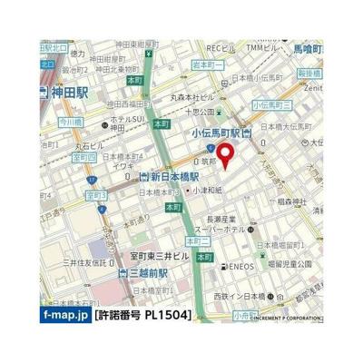 【地図】リヴシティ日本橋ネクステシア