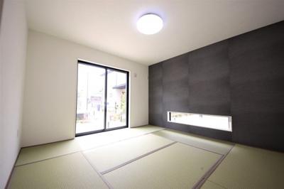 1号棟 柔らかい畳が心地よい和室