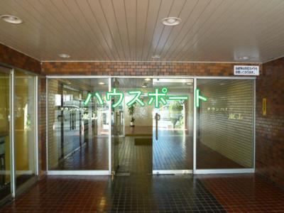 【エントランス】タウンハイツ嵐山