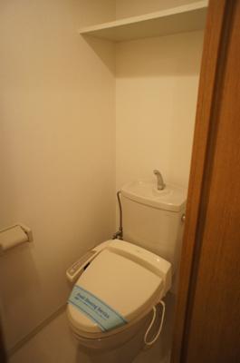「温水洗浄便座付トイレ」