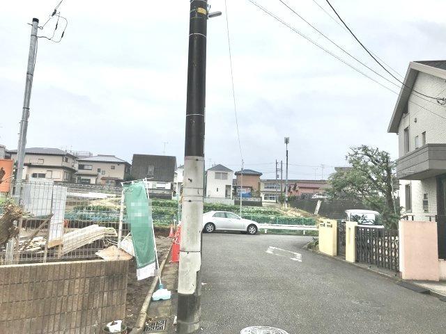 【前面道路含む現地写真】瀬谷区東野売地