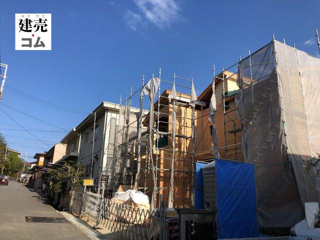 神戸市西区富士見が丘3丁目20期 新築一戸建て 2021/9/23現地撮影
