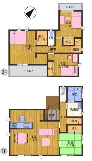 神戸市西区富士見が丘3丁目20期 新築一戸建て