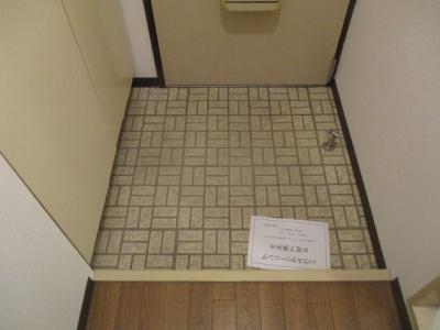 【玄関】ライオンズマンション難波南