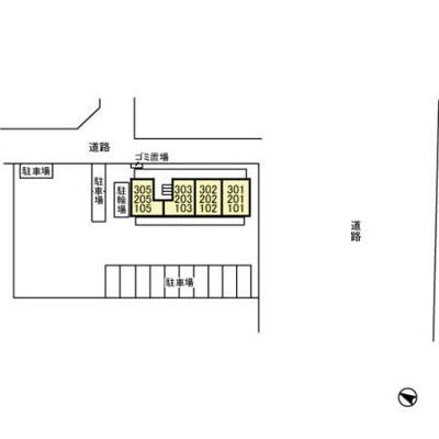 【区画図】ハイツ YOSHIHARU