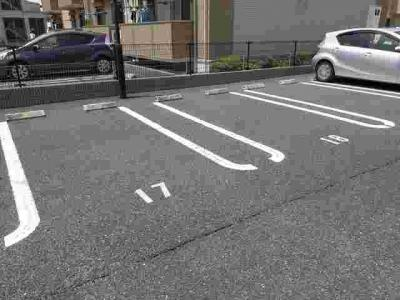 【駐車場】アルカンシェルⅡA