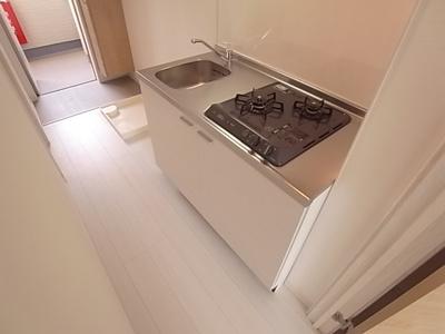 自炊派にオススメなシステムキッチン完備。