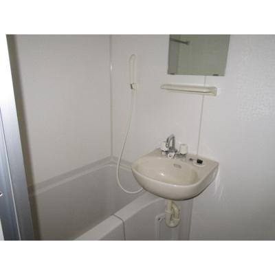 【浴室】レオパレス WHITE WELL