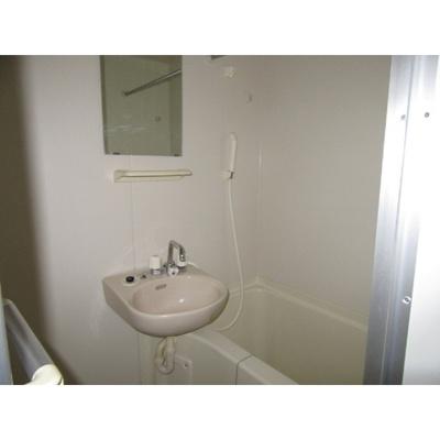 【浴室】レオパレス都
