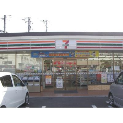 コンビニ「セブンイレブン上田千曲高校前店まで416m」