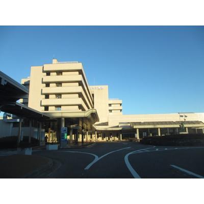 病院「飯田市立病院まで1554m」