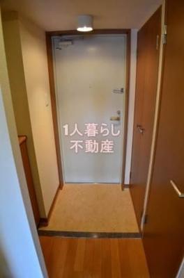 玄関の様子です。