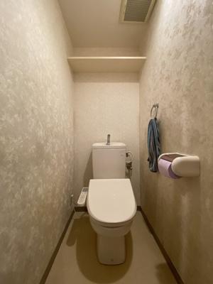 【トイレ】ラブリハイツ戸頭
