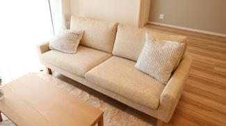 ソファー等家具付きは嬉しいですね♪