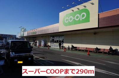 スーパーCOOPまで290m