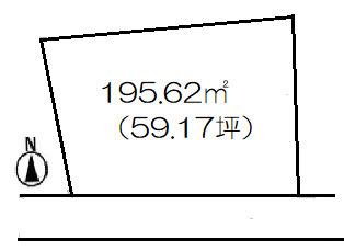 【土地図】高崎市下中居町売地