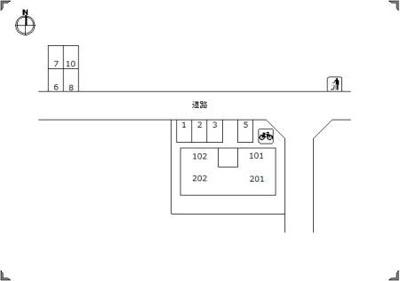 【区画図】ルピナス観月坂
