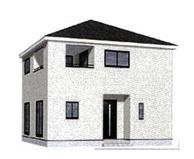中巨摩郡昭和町河東中島 新築戸建全3棟3号棟 耐震等級3等級の画像