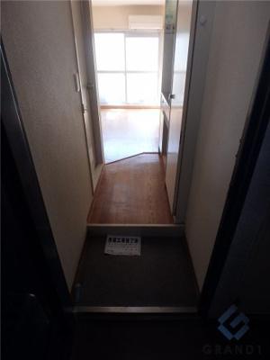 【玄関】プチグレイス武庫之荘壱番館 初期費用は前家賃のみでOK!