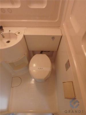 【トイレ】プチグレイス武庫之荘壱番館 初期費用は前家賃のみでOK!