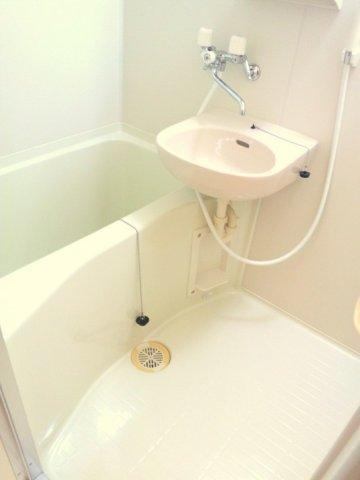 【浴室】レオパレス蘭