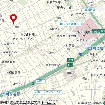 【地図】日興パレス渋谷パートⅢ