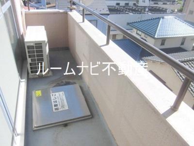【バルコニー】ライオンズマンション蓮根