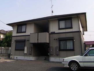 【外観】パストラルA棟(東松山市殿山町)