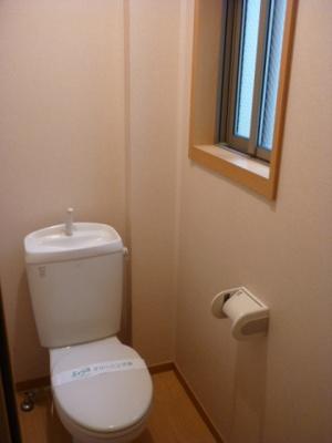 「個室タイプのトイレ」
