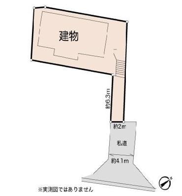 【区画図】海老名市柏ヶ谷 中古戸建