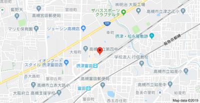 【地図】清和幸マンションB棟