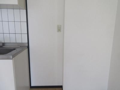 冷蔵庫置き場もしっかりあります