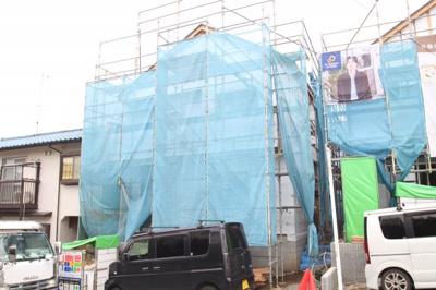 【外観】海老名市国分寺台2丁目  新築戸建て 全2棟 【仲介手数料無料】