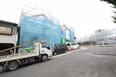 【前面道路含む現地写真】海老名市国分寺台2丁目  新築戸建て 全2棟 【仲介手数料無料】