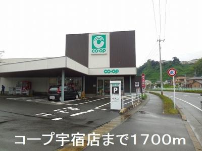 コープ宇宿店まで1700m