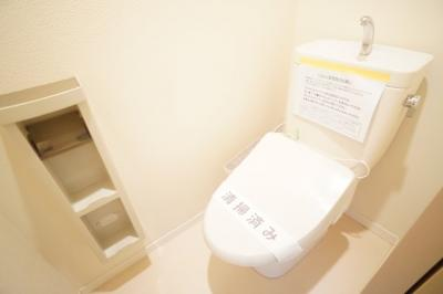 【トイレ】ルミナス市川