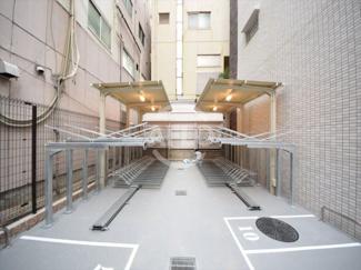 S-RESIDENCE淀屋橋 駐輪場