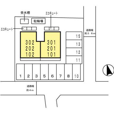 【区画図】D-room Wood Bell